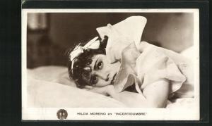 AK Schauspielerin Hilda Moreno in Incertidumbre