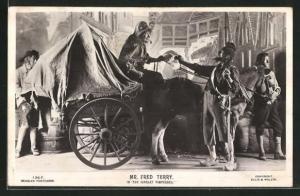 AK Schauspieler Mr. Fred Terry in The Scarlet Pimpernel