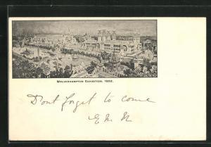 AK Wolverhampton, Ausstellung / Exhibition 1902, Ausstellungsgelände