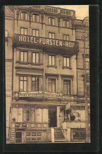 AK Bremen, Hotel Fürstenhof von G. Schrader