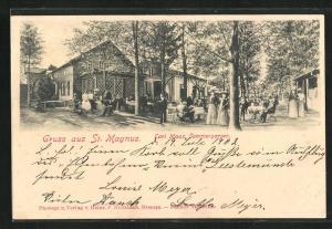 AK St. Magnus, Cafe Carl Maas Sommergarten
