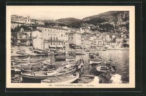 AK Villefranche-sur-Mer, Le Port, Hafen