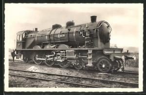 AK Französische Eisenbahn-Lokomotive No. 231-716, Etat