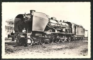AK Französische Eisenbahn-Lokomotive No. 231-013, S.N.C.F.
