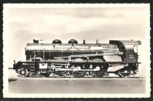 AK Französische Eisenbahn-Lokomotive No. 6001, P.L.M.