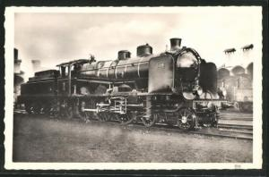 AK Französische Eisenbahn-Lokomotive No. 1308, Alsace-Lorraine