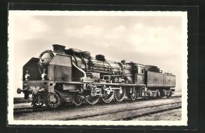 AK Französische Eisenbahn-Lokomotive No. 3566 der P.O.