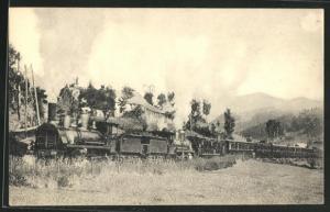 AK Französische Eisenbahn Réseau d`Orléans