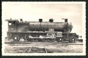 AK Französische Eisenbahn-Lokomotive No. 4501 der P.O.