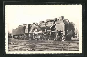 AK Französische Eisenbahn-Lokomotive der P.O.-Midi