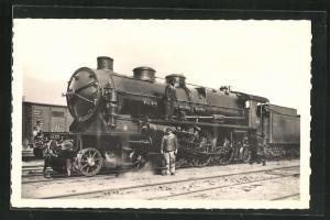 AK Französische Eisenbahn-Lokomotive No. 31201 Super-Pacific, Nord