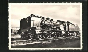 AK Französische Eisenbahn-Lokomotive der Baureihe 231 K 2 bis 86, S.N.C.F.