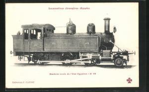 AK Eisenbahn-Lokomotive No. 56 der Ägyptischen Staatsbahn