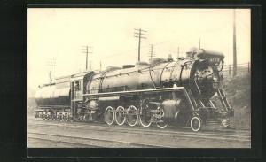 AK Kanadische Eisenbahn-Lokomotive Machine No. 4100