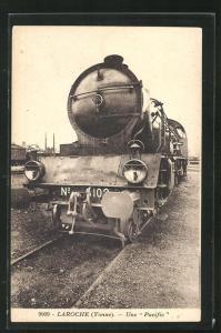AK Laroche, französische Eisenbahn une Pacific