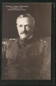 AK Heerführer General John J. Pershing in Uniform