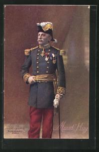 AK Französischer Heerführer General Maud`Huy in Uniform