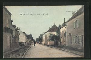 AK Rioz, Route de Vesoul