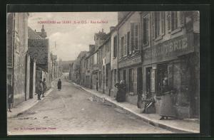 AK Bonnieres-sur-Seine, Rue Gaillard
