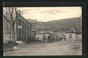 AK Murat-sur-Vebre, Le Bureau de Tabac et le Pesage