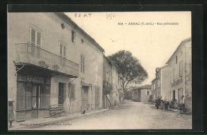 AK Arnac, Rue principale