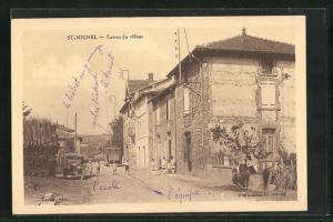 AK St-Michel, Entree du village
