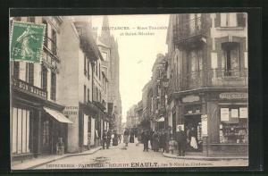 AK Coutances, Rue Tancrede et Saint-Nicolas
