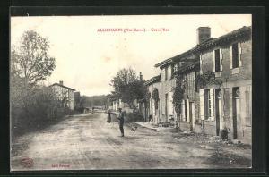 AK Allichamps, Grand`Rue