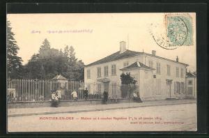 AK Montier-en-Der, Maison ou a coucher Napoleon, le 20 janvier 1814