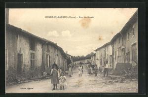 AK Conde-En-Barrois, Rue des Marats, Verwahrloste Kinder