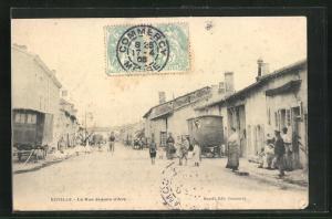 AK Euville, La Rue Jeanne d`Arc