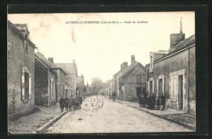 AK La Chapelle-Vendomoise, Route de Vendome