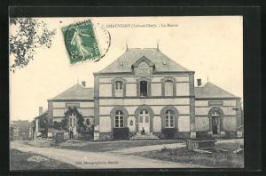 AK Chauvigny, La Mairie