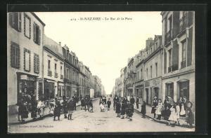 AK St. Nazaire, La Rue de la Paix