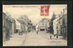AK Pont-Chateau, La Place du Marché