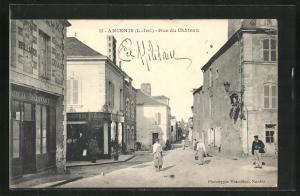 AK Ancenis, Rue du Chateau