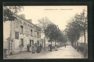 AK Mauves, Avenue de la Gare