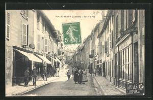 AK Bourganeuf, Rue du Puy
