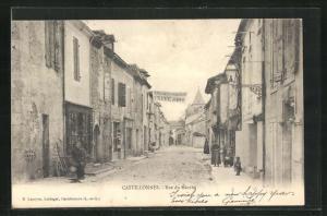 AK Castillonnés, Rue du Marche