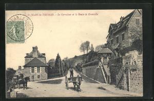 AK St-Jean-le-Thomas, Le Carrefour et la Route de Granville