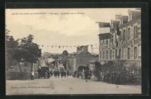 AK Saint-Hilaire-du-Harcouét, Quartier de la Riviere