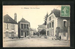AK Plancy, Rue des Champs