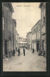 AK Belpech, Vue dans la Rue Tourrou