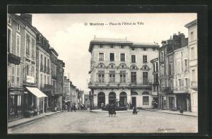 AK Nontron, Place de l`Hotel de Ville