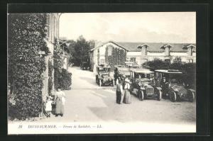 AK Dives-sur-Mer, Ferme de Sarabot, Automobile