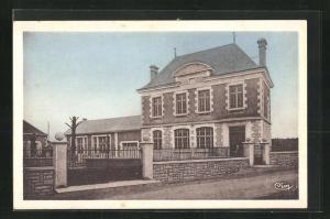 AK Tercè, La Mairie et les Ecoles