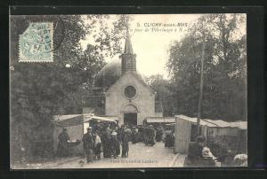 AK Clichy-sous-Bois, Un jour de Pèlerinage à N.-D. des Anges