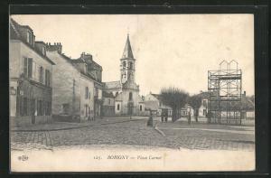 AK Bobigny, Place Carnot et l`Eglise