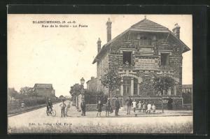 AK Blanc-Mesnil, Rue de la Gaite, La Poste