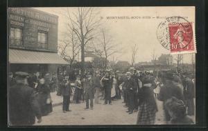 AK Montreuil-sous-Bois, Marchè aux Puces